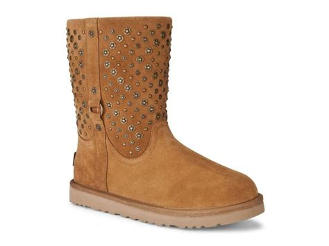 ugg womens fabrizia boots seal ugg australia fabrizia motorcycle boot chestnut leather