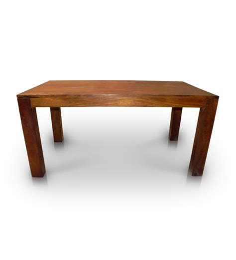 Basil Sheesham Wood Honey Dining Table By Mudra Online