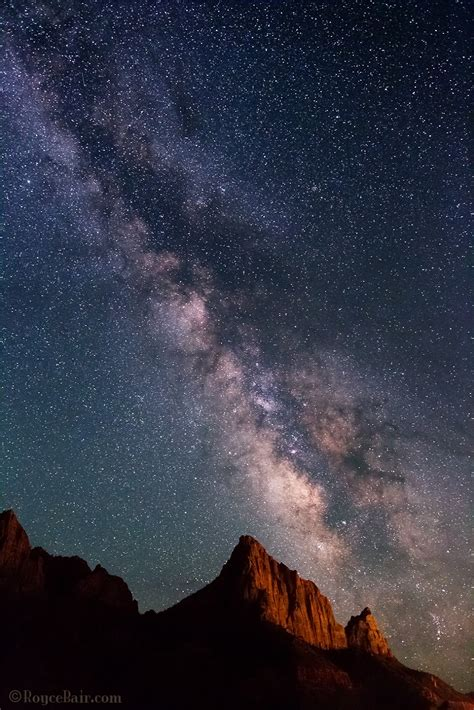 Into The Night Photography View Milky Way With