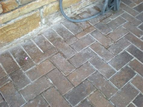what happens when seal brick pavers il