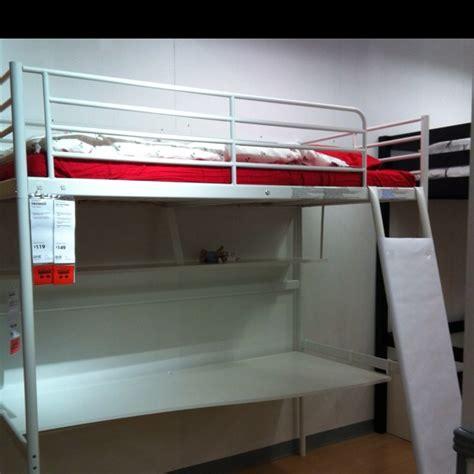 beds that have a desk underneath ikea tromsö loft bed just slide his desk and bookshelf