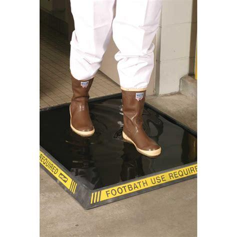 "Sanitizing Footbath Mat Chlorine Resistant High Wall 32"" x"