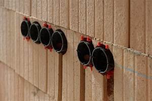 Kabel An Wand Befestigen : stein auf stein tag 166 elektroroharbeiten teil 2 ~ Michelbontemps.com Haus und Dekorationen
