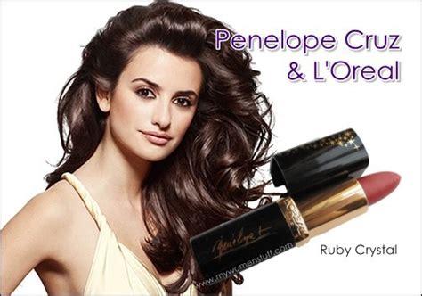 Penelope Cruz Leaves L'oreal Lipsticks For Lancome Tresor