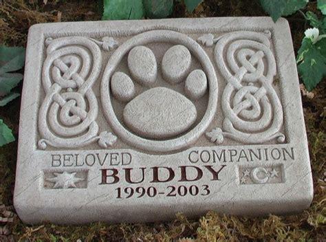 pet memorial garden stones pet marker personalized pet memorial marker with celtic