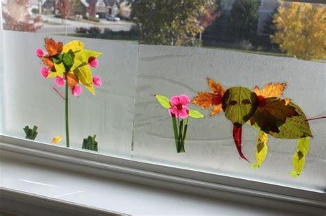Herbstdeko Fenster Basteln Mit Kindern by Inspirierende Ideen F 252 R Herbstbasteln Mit Kindern