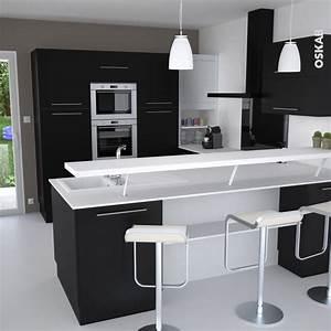 comptoir separation cuisine sejour cuisine en image With comptoir separation cuisine salon