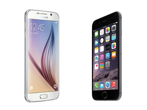 samsung galaxy s6 vs iphone 6 which smartphone samsung galaxy s6 vs apple iphone 6 stuff