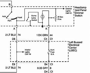 1970 Chevy Headlight Dimmer Switch Wiring Diagram