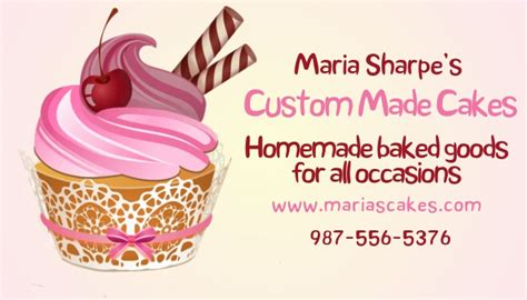 copy  cupcake baking business card template postermywall