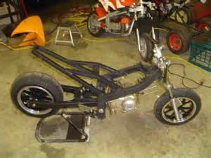 Custom Mini Bike Frame