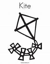 Kite Coloring Printable Designlooter sketch template