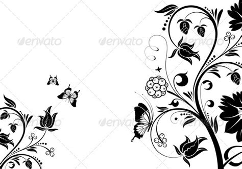 corak hitam putih desainrumahidcom