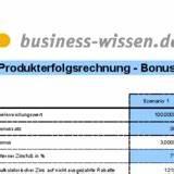 Deckungsbeitrag Berechnen Excel : bonusrechner excel tabelle business ~ Themetempest.com Abrechnung