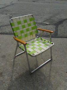 vintage retro aluminum framed folding lawn chairs rainbow