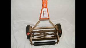 Vintage 60 U0026 39 S Scotts Silent Push Mower Manual Reel W