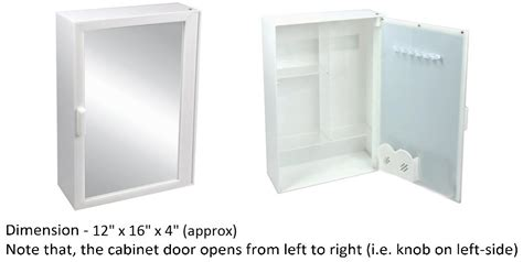 bathroom mirror storage cabinet prices shopclues
