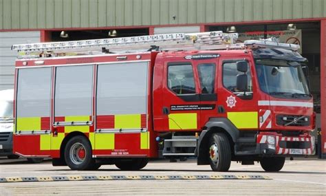 fire engines  north wales volvo po hxl