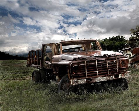 Old Ford Truck Iphone Wallpaper