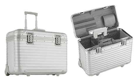 Rimowa Pilot Aluminum Cases at The Best Things
