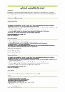 Cover Letters Administrative Assistant Sample Airline Manager Resume