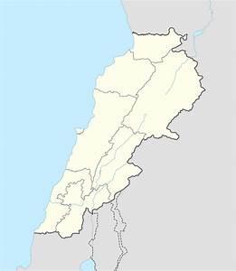 Templatelebanese Insurgency Detailed Map Wikipedia