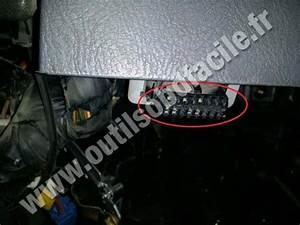 Obd2 Connector Location In Hyundai Accent  1995 - 1999