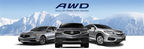 acura awd vehicles michigan acura dealers all wheel