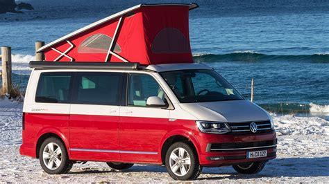 Volkswagen Vw T6 California Im Vw Cingbus Auf Den Lofoten Unterwegs