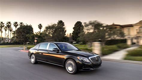 2015 Mercedes Maybach S600 Royal Car Wallpaper