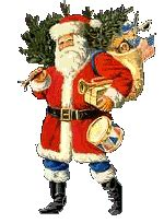 santa claus animated images gifs pictures animations