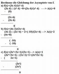 Geschossgeschwindigkeit Berechnen : asymptote berechnen von f mathelounge ~ Themetempest.com Abrechnung
