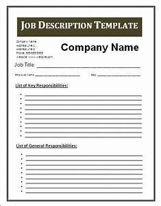 Job card template word new calendar template site for Creating job descriptions template