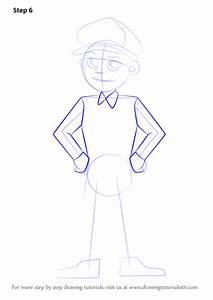 Step By Step How To Draw A Policeman Drawingtutorials101com