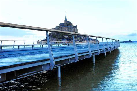 fran 231 ois hollande inaugure le barrage du couesnon au mont
