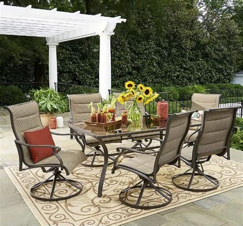 Grand Resort Patio Furniture Sets Review   Oakdale 7 Piece