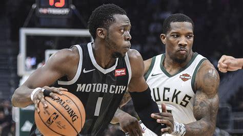 Bucks Vs. Pistons Live Stream: Watch NBA Playoff Game 1 ...