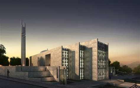 yasamkent mosque  architectural design