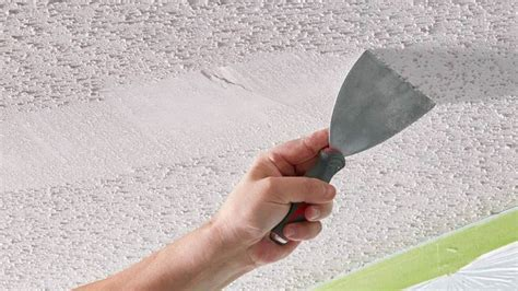 remove ceiling texture diy guide  drywall