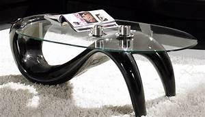 Table Basse De Salon : table de salon en verre ~ Teatrodelosmanantiales.com Idées de Décoration