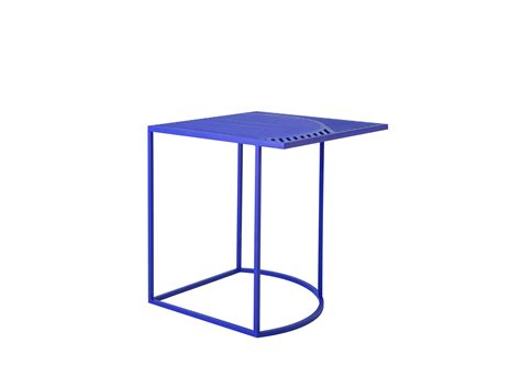 table d appoint carr 233 e iso b de friture bleu