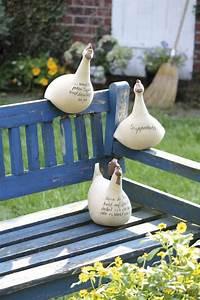 Keramik Für Den Garten : garten accessoires von keimzeit handgefertigte keramik h hner ~ Buech-reservation.com Haus und Dekorationen