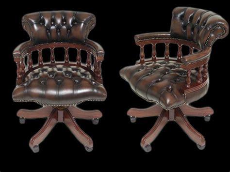 fauteuil de bureau anglais fauteuil de bureau anglais captain longfield 1880