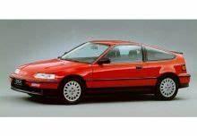 Cote Autovista : cote auto gratuite et fiche technique honda crx crx 16v 1991 8 cv essence manuelle 2 ~ Gottalentnigeria.com Avis de Voitures