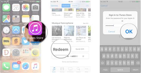 itunes for iphone how to gift and redeem content on the itunes for