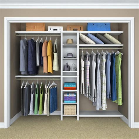 Closetmaid At Home Depot - closetmaid impressions 14 57 in d x 16 97 in w x 82 46