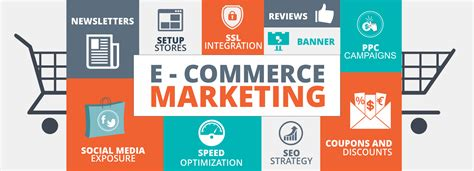 E Marketing Websites - digital marketing strategy for e commerce websites with