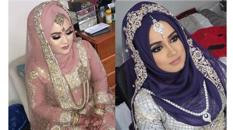 wedding hijab style  bride hijab ideas youtube