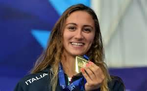 """In the final, ledecky swam to an early lead before italian swimmer simona quadarella took over midway through the race. Simona Quadarella: """"Il triplete che sogno nel 2020 ..."""