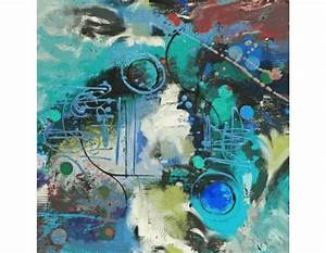 Modern Abstract Hand Painted Art